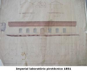 Imperial laboratório pirotécnico 1851