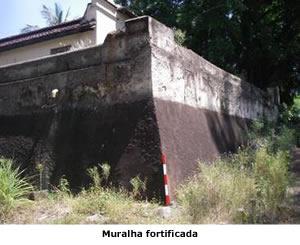 Muralha fortificada